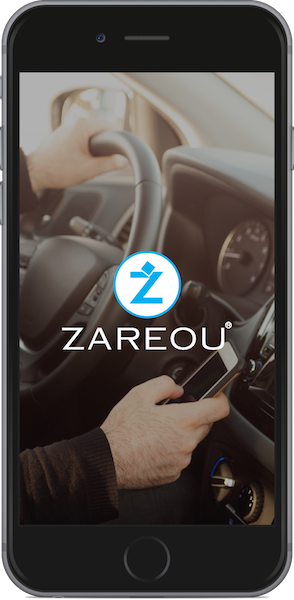 Zareou Driver App Home Screen